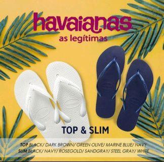 Authentic Havaianas Slippers #EndGameYourExcess