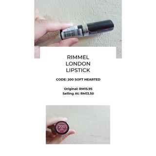 NEW Rimmel London Lipstick from Watsons