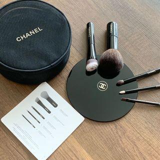 Authentic Chanel Make-up Brush Set