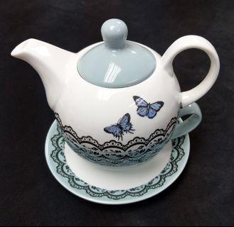 茶壺連杯 Porcelain Tea for One set