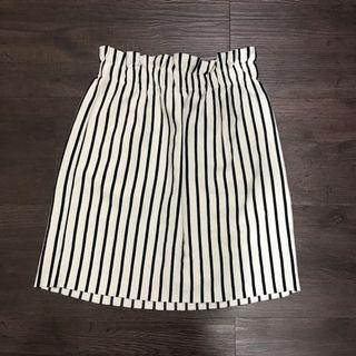 Bershka Striped Bodycon Skirt
