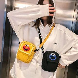 🚚 INSTOCK Sesame Street Embroidered Sling Bag