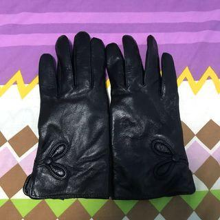 🚚 Leather Fleece Gloves