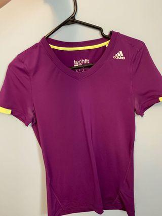 Adidas dry fit shirt size small