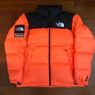 Supreme The North Face Orange Jacket 橘色羽絨外套 全新現貨在台
