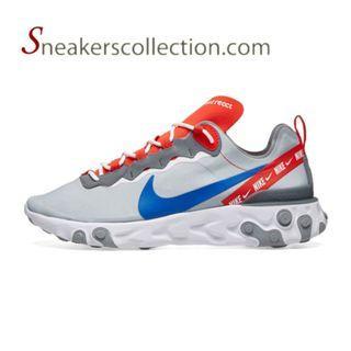 Nike React Element 55  - Wolf Grey