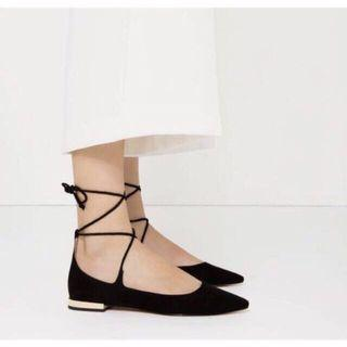 Zara ballerina shoes