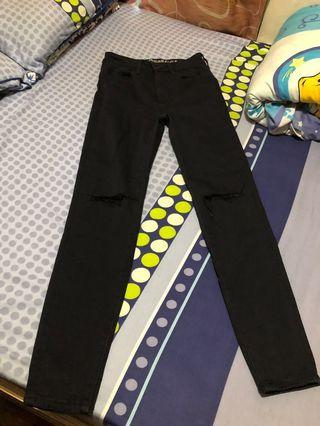 AEO super high rise jeggings