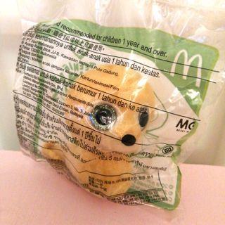 Teenie Beanie Boo's Tusk McDonald's 麥當勞開心樂園餐 5.3cm x 7.5cm x 8cm 19.2g 全新 未開封 玩具