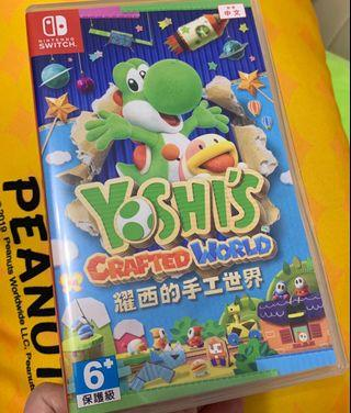 Switch Yoshi's Crafted World 耀西的手工世界 Mario Yoshi 恐龍仔