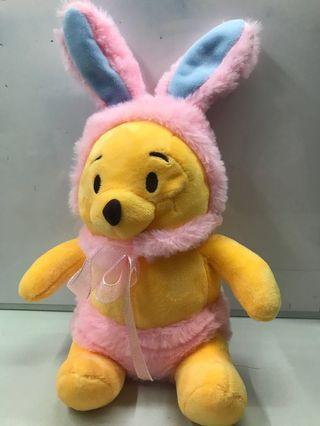 復活節造型小熊維尼Winnie The Pooh 毛公仔