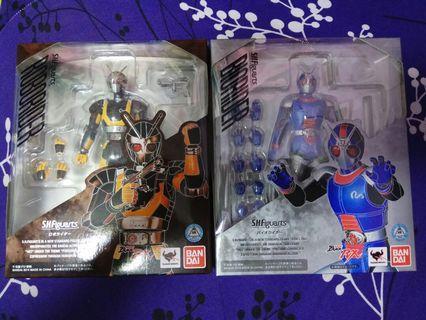 全新 Masked Rider SHF 幪面超人 RX 憤怒王子 悲傷王子 生體 機體