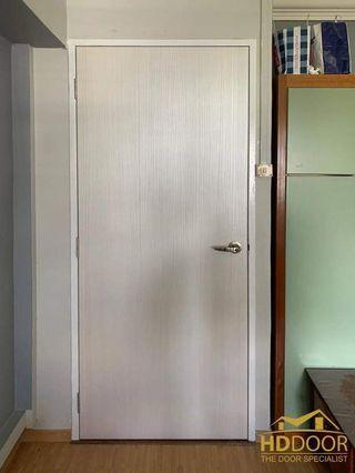 🚚 White oak finishing laminated door