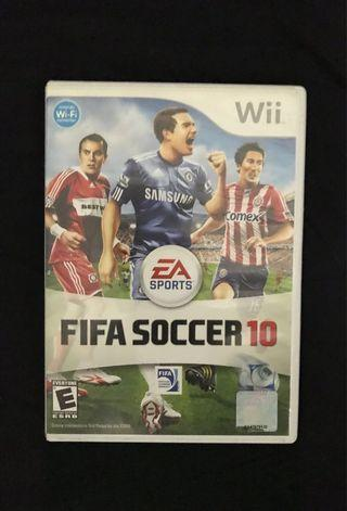 Wii video game sports Fifa soccer 10