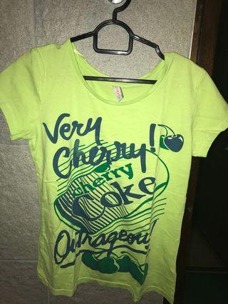 Light Green Coke Tshirt