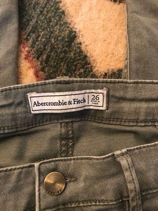 Abercrombie army pants