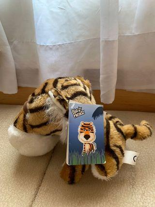 Big Headz Tiger New with Tag