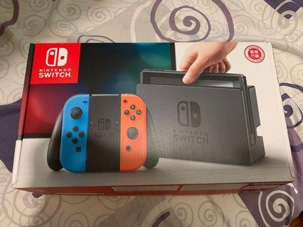 Nintendo Switch 連3隻game 連原裝配件