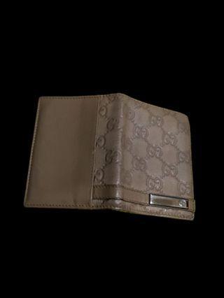 Unisex Gucci Guccissima Cardholder Wallet