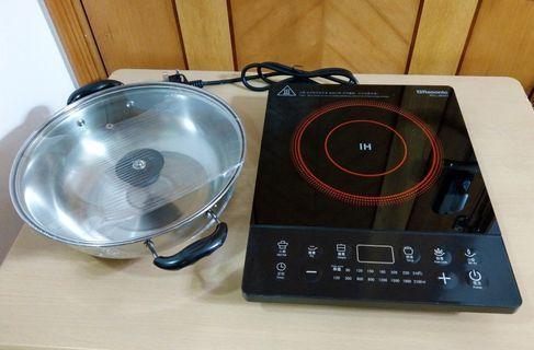 樂信牌電磁爐(全新)連鍋