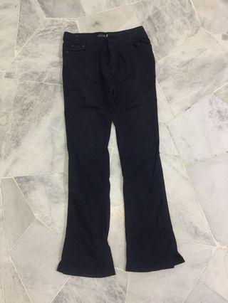Blue black pant