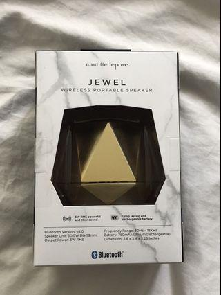 Unopened Gold Bluetooth Speakers