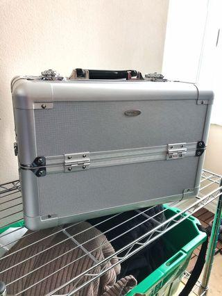 Sephora Collection Large Silver Train Case