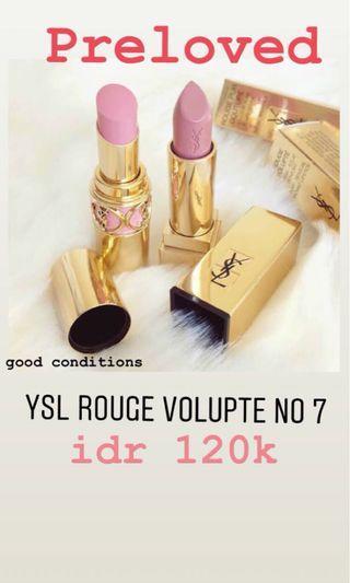 YSL Lipstick Preloved