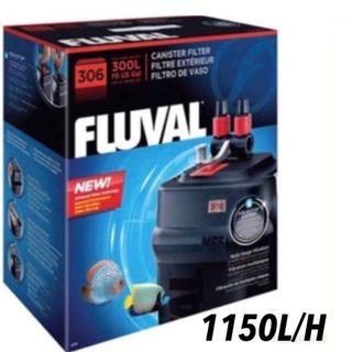 Fluval 306 outside filter up to 300L aquarium water