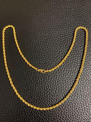 Gold Chain 19.36gm
