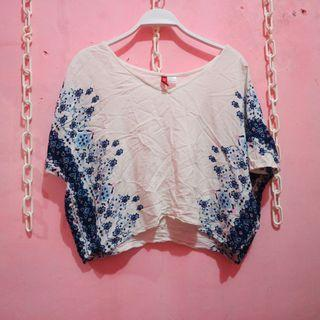 Top batwing h&m