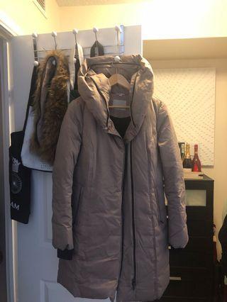 Soiya & Kyo womens beige winter coat - size medium