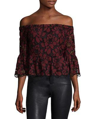 Likely STOCKTON Off-Shoulder Blouse