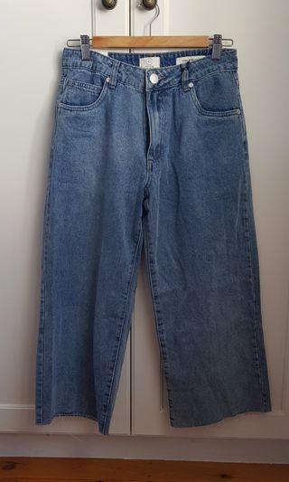 Cotton on wide leg jeans