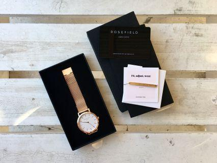 Rosefield Rose Gold Watch