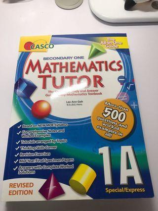 🚚 Secondary 1 math