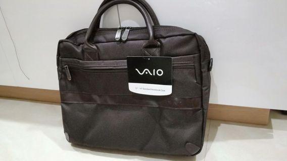 """Tas Laptop VAIO 13""""-14"""" / Standard Notebook Case VAIO Brown"""