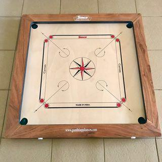 🚚 Surco Vintage-K Carrom Board with Coins & Striker