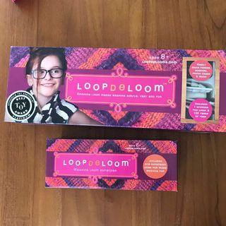 Loopdeloom (spinning loom for weaving)