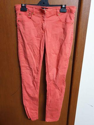 H&M coral pants