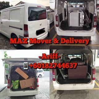 Servis Penghantaran / Sewa Van Angkat Barang / Mover / Pindah rumah / Pindah Barang