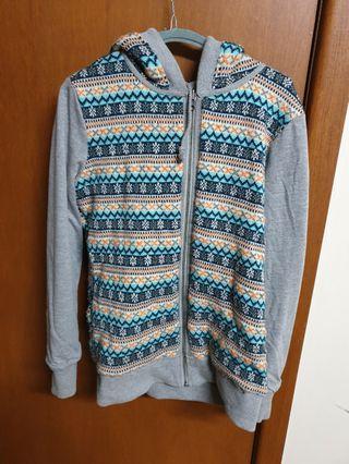 Reversible Oakley hoodie jacket