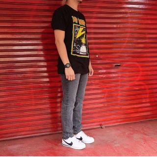 Celana Jeans Denim GU by Uniqlo Original Slimfit Stretch