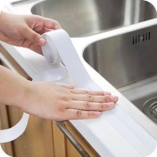 🚚 Instock Anti Mold Tape Kitchen Sink Seal GAP Bathroom