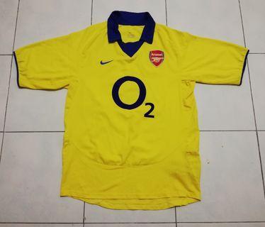 Arsenal 0304 away jersey
