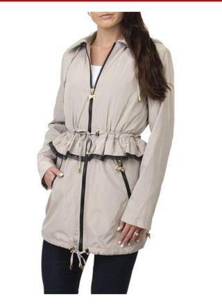 ⚫️Betsey Johnson Large Anorak Peplum Jacket