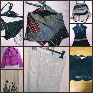 Vintage Branded Clothes (blouses/skirts) #ENDGAMEyourEXCESS