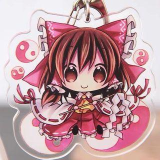 Touhou Project Double-sided Acrylic Keychains