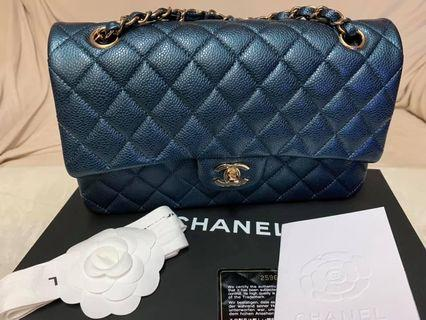 New unused chanel 18S Pearly Blue with LGHW.