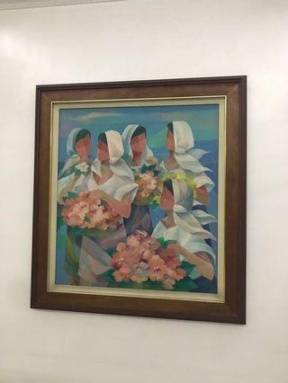 Salita, Cesar Amorsolo, Baldemore paintings